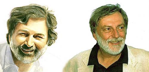Francesco Guccini e Gino Strada
