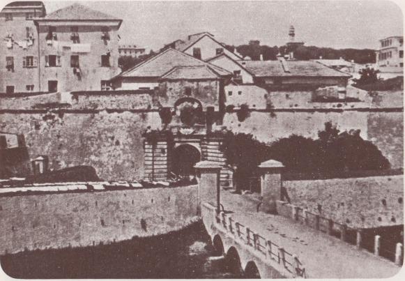0b Porta Romana da Vecchia Genova - ed Valenti